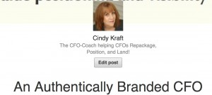 An Authentically Branded CFO