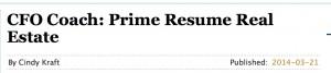 Prime Resume Real Estate